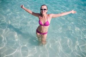 Zwemmen en sporten met de Divacup tijdens je vakantie